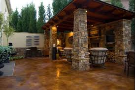 Concrete Staining Pictures by Painting Poetry Exterior Design Landscaping Maintenance