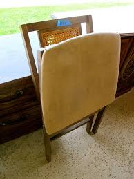 Stakmore Folding Chairs Vintage Rummage Sale Refurbishing U0026 Repurposing Ideas Homejelly