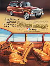 jeep cherokee ads 1979 jeep wagoneer limited ad b classic cars today online