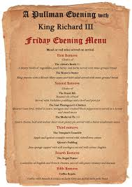 king richard iii pullman dining evening great central railway