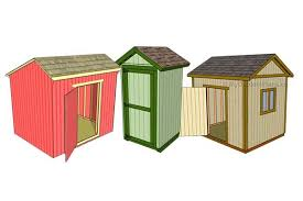 Free Outdoor Wood Shed Plans by 108 Diy Shed Plans With Detailed Step By Step Tutorials Free