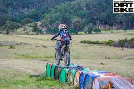junior motocross bikes southern junior dirt bike club tas australasian dirt bike magazine