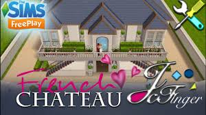 french chateau house plans the sims freeplay french chateau u2022 remodel by joy