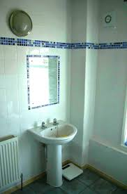 beautiful bathroom tiles mosaic border in the shower with decor