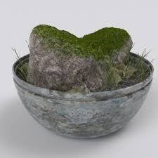 terrarium bowl 3d model cgtrader