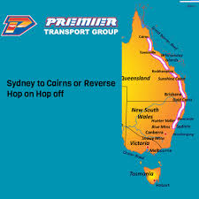 hop on hop sydney australia premier pass sydney to cairns or cairns to sydney