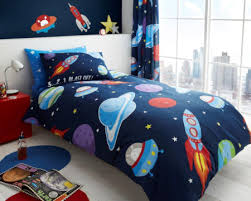 Space Bed Set Blast Outer Space Bedding Duvet Comforter Cover Set