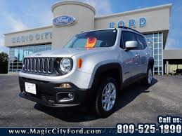 jeep renegade used used jeep renegade at magic city ford lincoln roanoke serving