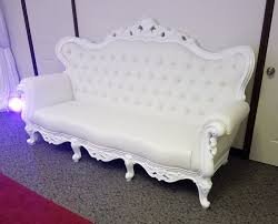 Victorian Loveseats Michigan White Lounge Furniture Rentals Couches Thrones