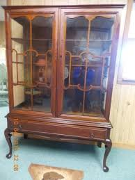 Curio Cabinet Asheville Nc Early 1900 U0027s Curio Buffet Highboy China Cabinet Picture Of Wagon