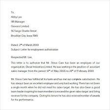 Address Certification Letter Sle Work Authorization Letter Academic Authorization Letter 14
