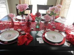 Valentine S Day Tablecloth by Diy Valentine U0027s Day Tablescape With Items From Dollar Tree