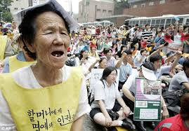 Japanese Comfort Women Stories First Footage Of Ww2 Slaves Who Still Shame Japan Daily Mail