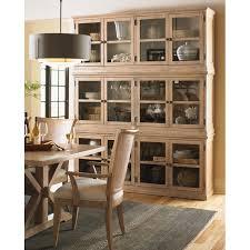 lexington furniture china cabinet lexington furniture sausalito glass door stackable cabinet in