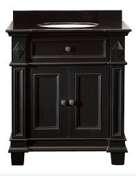 White Bathroom Vanity With Black Granite Top by Ove Decors Essex Vb Vanity With Black Marble Countertop With