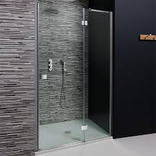 900mm Shower Door Simpsons Design 900mm Hinged Shower Door With Inline Panel