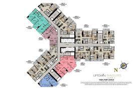 uptown parksuites building plans