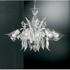 Crystal Glass Chandelier Traditional Murano Glass Chandeliers