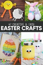 47 creative u0026 easy diy easter crafts for your kids to make with