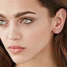 bar stud earrings shashi bar stud earrings from forever 21 forever 21