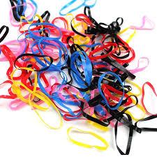 hair rubber bands 4000pcs lot fashion hair colorful rubber bands cow hair rubber