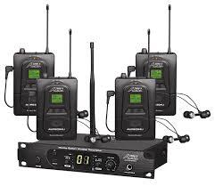amazon com audio2000 u0027s awm6306u in ear monitor system musical