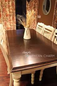 How To Refinish A Table Sand And Sisal by Refinishing A Large Table With Gel Stain She Has Some Good Tips