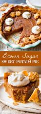 sweet potato thanksgiving dish brown sugar sweet potato pie sallys baking addiction