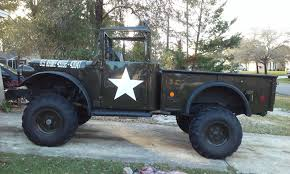chevy jeep dodge m37 restored army truck chevy v 8 for sale in spring hill