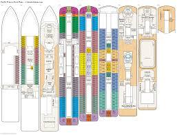 carnival sunshine floor plan pacific princess eight deck plan tour