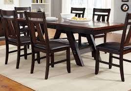 dining rooms wonderful salvaged wood trestle rectangular