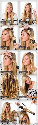 different ways to curl your hair with a wand best 25 curl your hair ideas on pinterest how to curl hair with