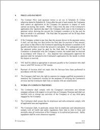 construction employment contract template 28 images
