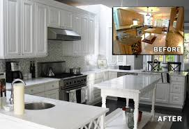 Paint Or Reface Kitchen Cabinets Facelift Painted Cabinets Nashville Tn Before And After Photos