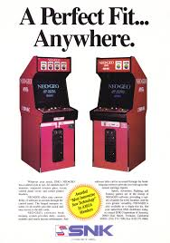 Neo Geo Arcade Cabinet Snk Neogeo Multi System Mvs Aceamusements Us