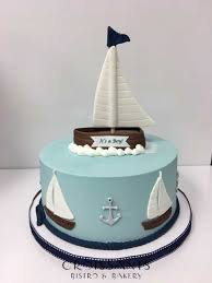 nautical cake shower cakes croissants myrtle bistro bakery