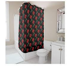 Shower Curtain 36 X 72 Discount Shower Curtains Roses 2017 Shower Curtains Roses On
