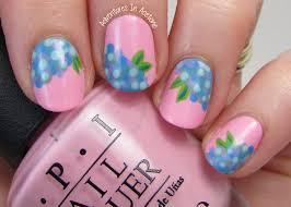 the digit al dozen does nature day 5 hydrangea nail art