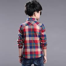 aliexpress buy 2017 autumn boys plaid shirts