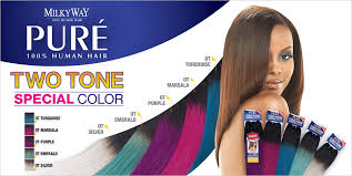 milky way hair belle milkyway remy human hair weave pure yaky ombre two tone samsbeauty