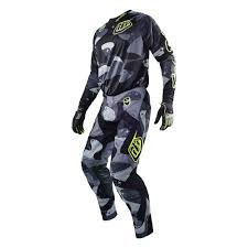 neon motocross gear troy lee designs 2016 cosmic camo se jersey and pants package