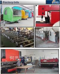 2015 shanghai newly design fast food van mobile kitchen design