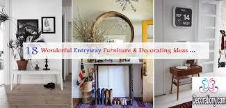 18 wonderful entryway furniture u0026 decorating ideas u2014 decorationy