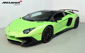 used lamborghini prices 2017 lamborghini aventador lp 750 4 sv for sale in norwell ma