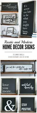 signs decor rustic and modern home decor signs giveaway
