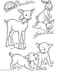 easter coloring page free 009