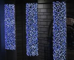 Sparkle Christmas Lights by Blue And White Christmas Lights Homesfeed
