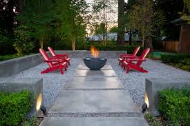 decor u0026 tips patio and garden landscape with pea gravel also