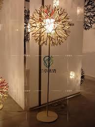 Floor Lamp Bedroom Decoratoin Metal Floor Lamp Creative White Coral Shape Tree