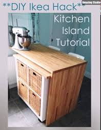 kitchen island ikea hack ikea hack diy kitchen island